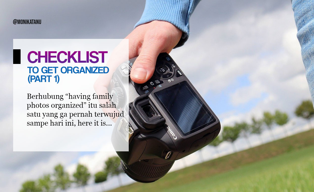 Checklist to Get Organized in Family Photos